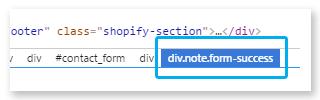 CSS selectors - short