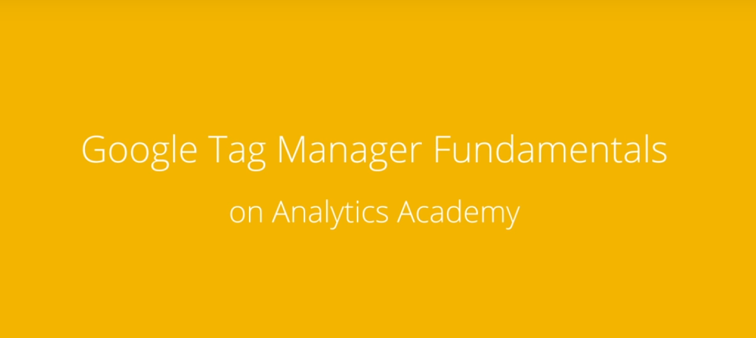 Google Tag Manager Course Online