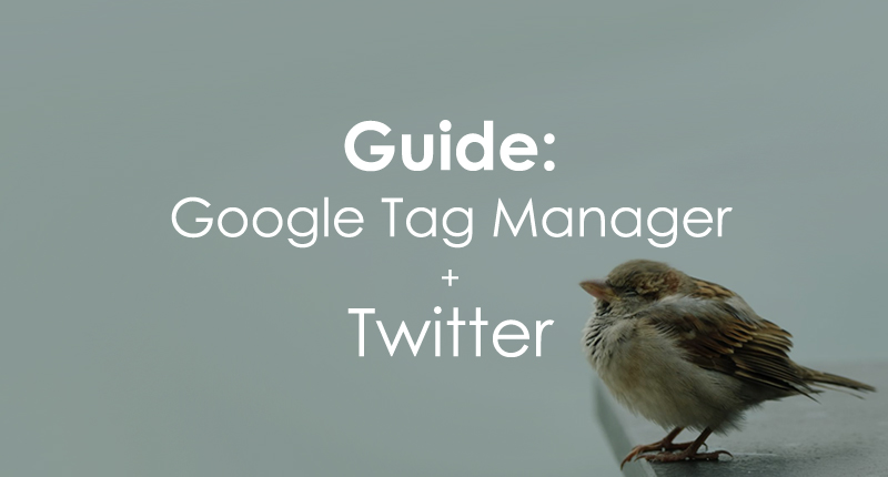 Google Tag Manager Twitter Guide