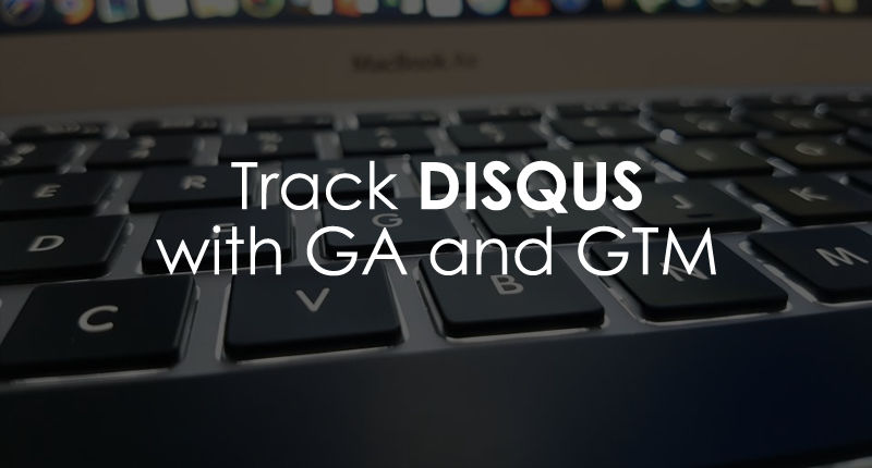 Track disqus comments with google analytics