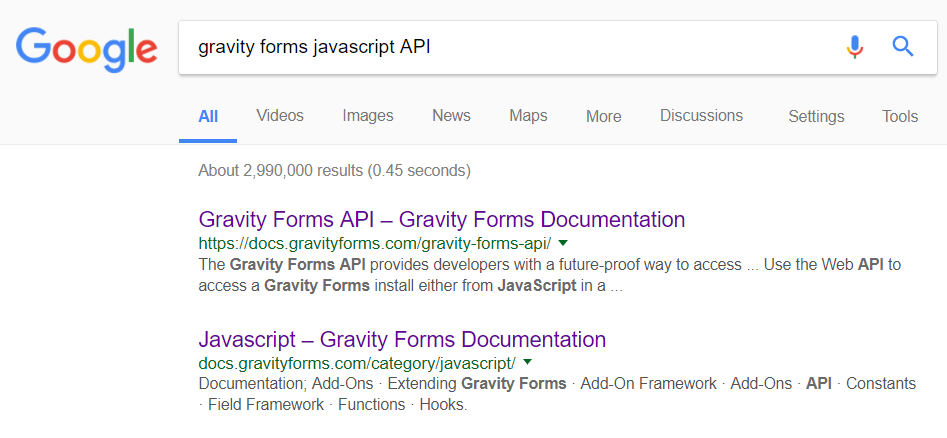 Gravity Forms JavaScript API