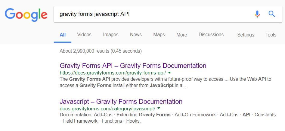 Gravity Forms JavaScript API