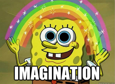 Spongebob imagination google tag manager