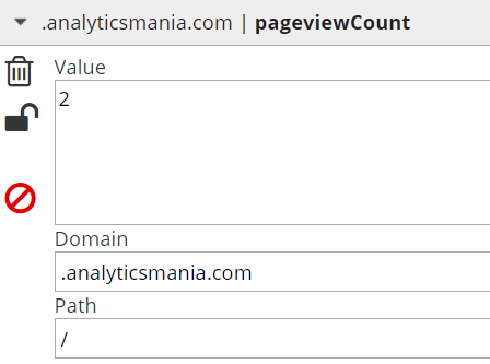 pageviewCount cookie