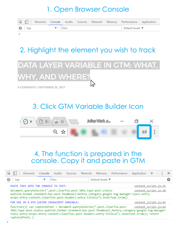 GTM Variable Builder Explanation