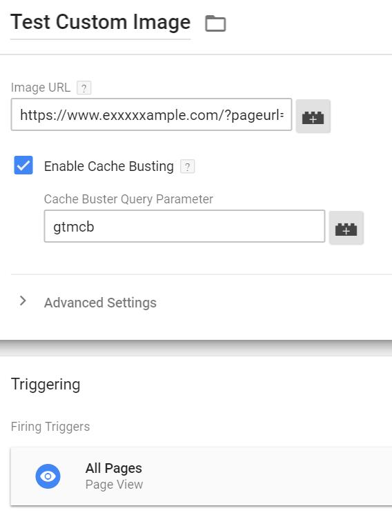 Custom Image Tag