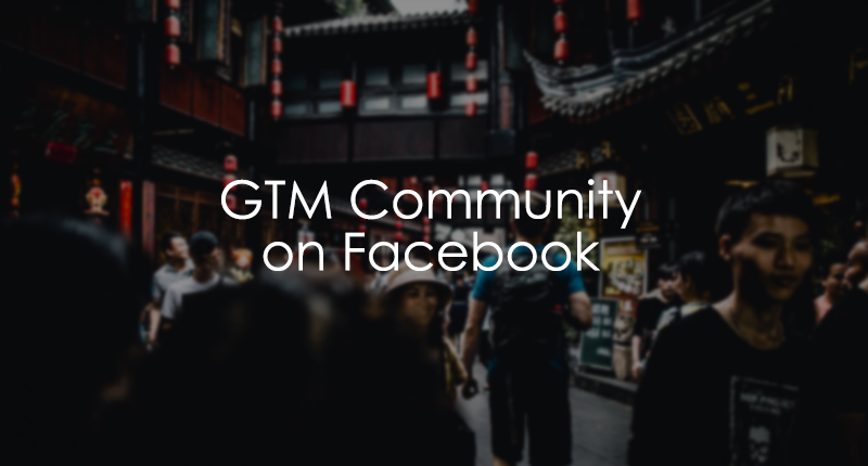 Google Tag Manager Community on Facebook