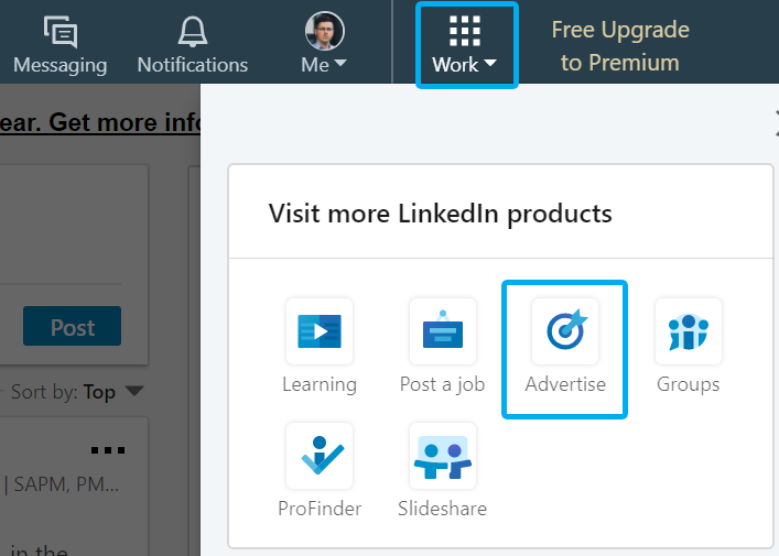 Find Linkedin Advertising