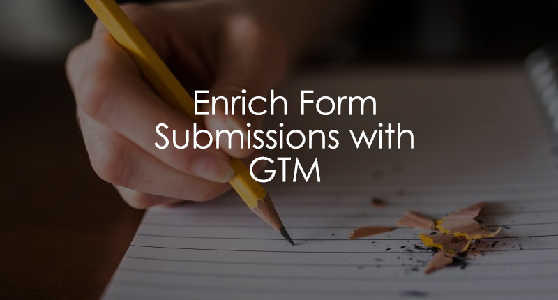 Enrich Form Submission Data