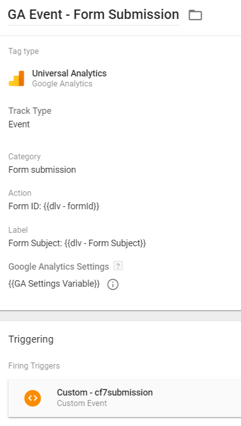 Solved] Contact Form 7 Event Tracking with Google Tag Manager