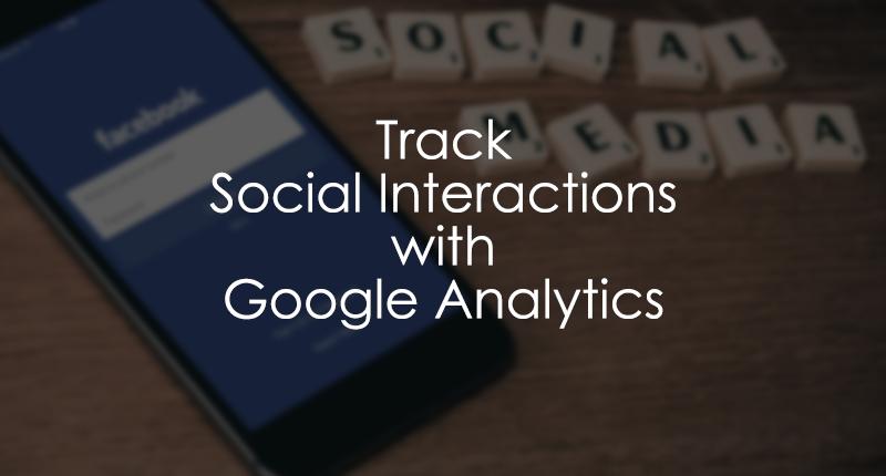 Google Analytics Social Tracking