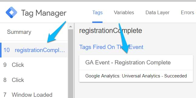 Google Tag Manager Custom Event Trigger