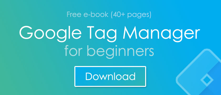 Tall Hero image - Ebook - GTM for beginners