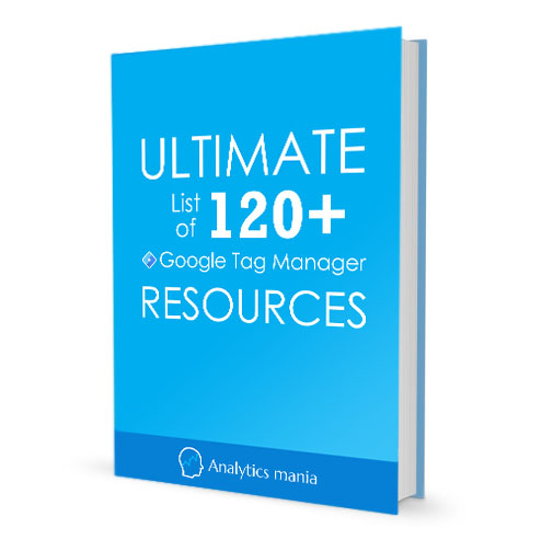 120 Google Tag Manager Resources - Real book image