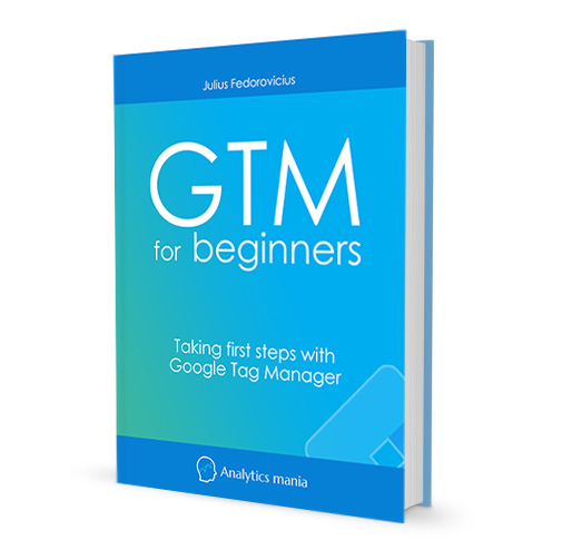 google tag manager for Beginners - Real book image