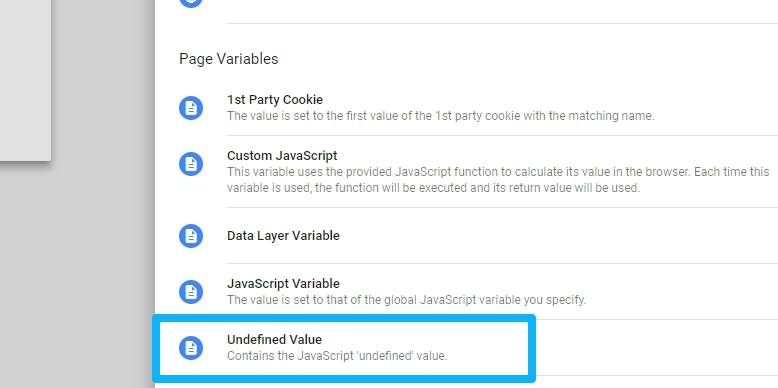 Undefined Variable in Google Tag Manager - Analytics Mania