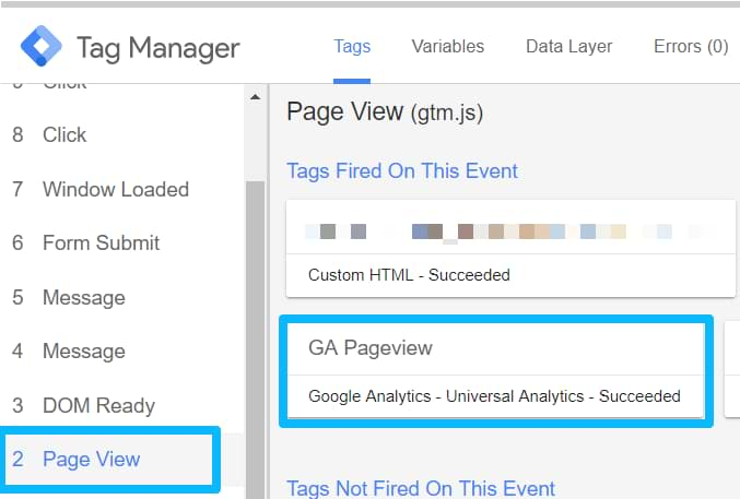 Preview mode - Google Tag Manager tutorial