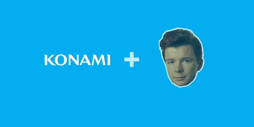 RickRoll Konami code Recipe for Google Tag Manager