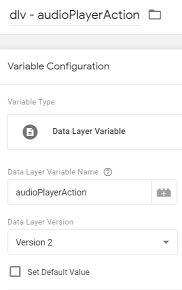 How to Track HTML5 Audio Player with Google Tag Manager and GA