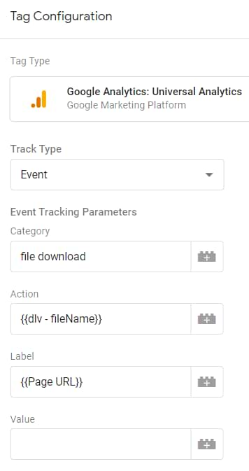track pdf downloads with google tag manager and google analytics