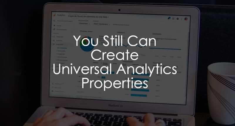 create a universal analytics property
