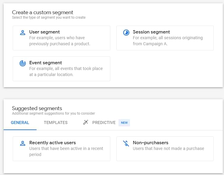 segments in google analytics 4 analysis hub